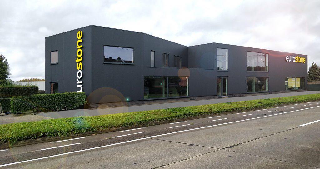 Eurostone NV - Buitengevel Showroom Eurostone NV