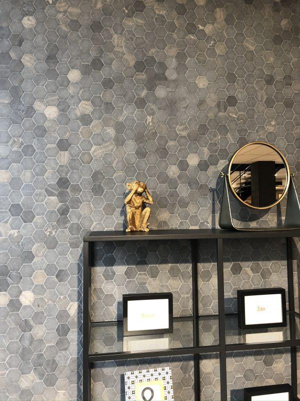 Natuursteen Tegels - Hexa Grey